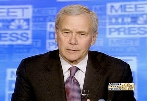 Brokaw to Host Meet the Press Through November Election