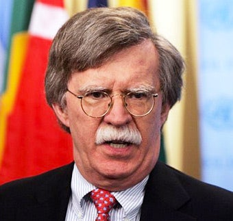 Crazy John Bolton Could Run for President