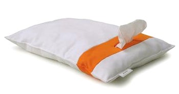 Howl Tissue Pillow, for When You Need to Wipe Up Hot, Sticky... Snot in Bed