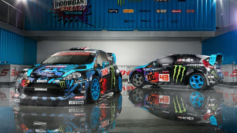 Ken Block Just Blue Himself