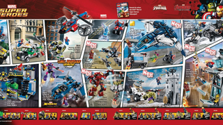 <i>Avengers: Age of Ultron</i>Lego set leaks and descriptions (spoilers)