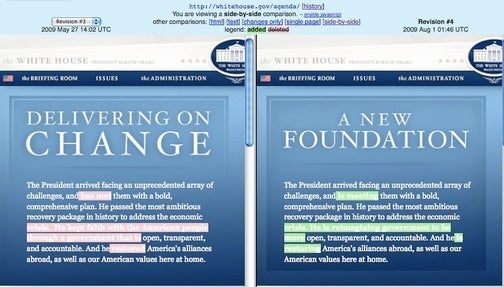 White House Admits Obama Hasn't Fixed Everything Yet