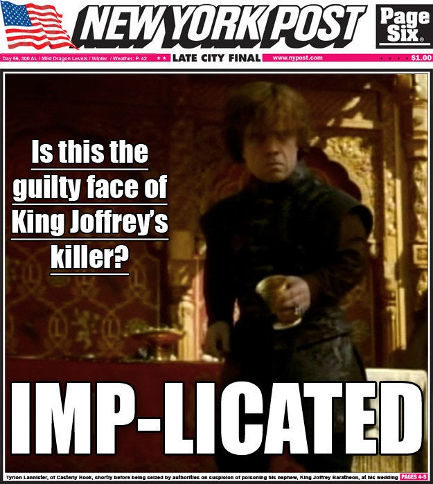 What if our media covered Westeros news?