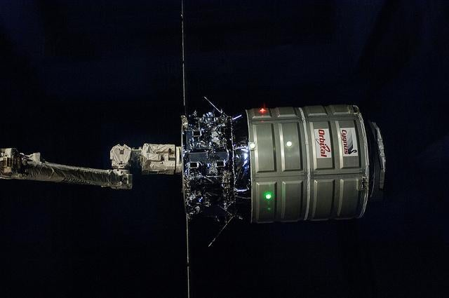 The Space Station Has The Most Beautiful Garbage Day