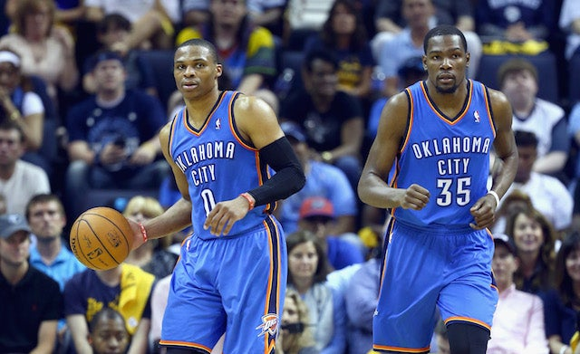 It's Westbrook And Durant Vs. The World Now