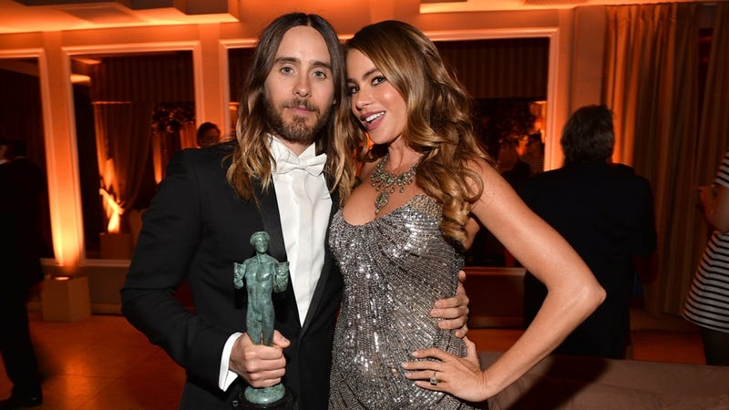 Jared Leto Narrowly Beat Out Sofia Vergara for the Shiniest Hair Award