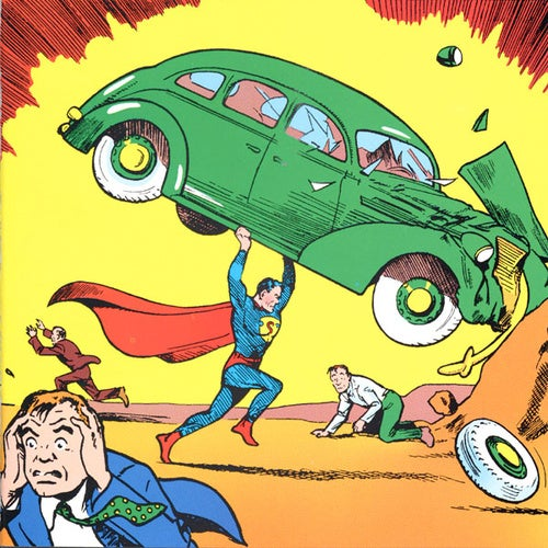 Remainders - The Things We Didn't Post: Faster Than a Speeding Bullet Edition