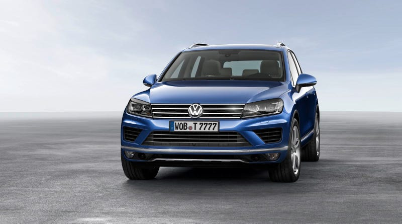 Volkswagen Touareg Redesigned To Look More Like The Scirocco Hot Hatch