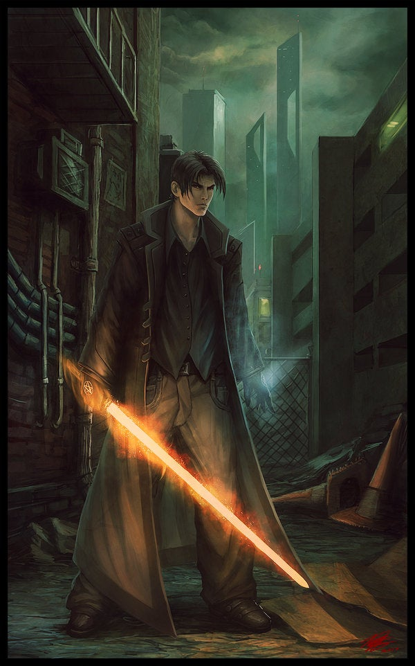 Dark City Cool Art Awesome Neo Noir And Urban Fantasy