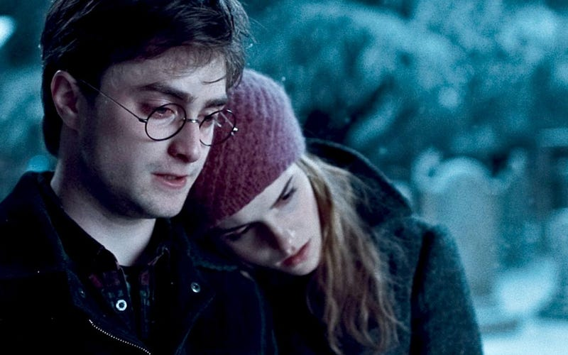 J.K. Rowling says Hermione should have married Harry, not Ron
