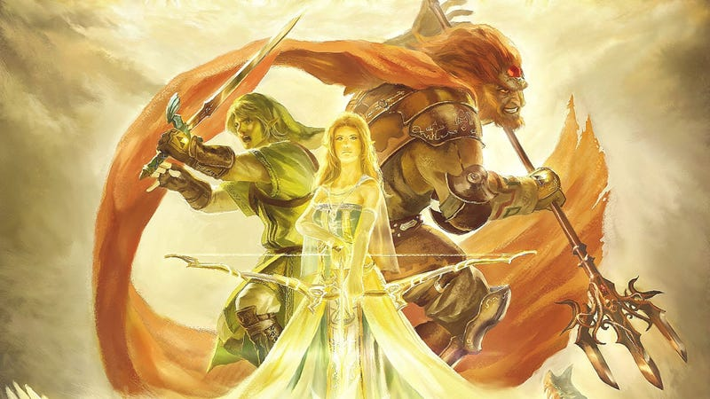 Celebrate Zelda's Birthday With This Stunning Painting