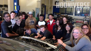 Project Civic Si(gh) Update - The kids are getting their hands dirty...