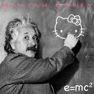 Mariah Carey's New Album E=MC2 Takes Inspiration From Einstein