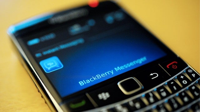 You Might Literally Be Allergic To BlackBerry Phones