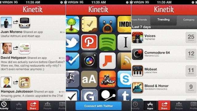 Kinetik: An iPhone App That Helps You Find iPhone Apps