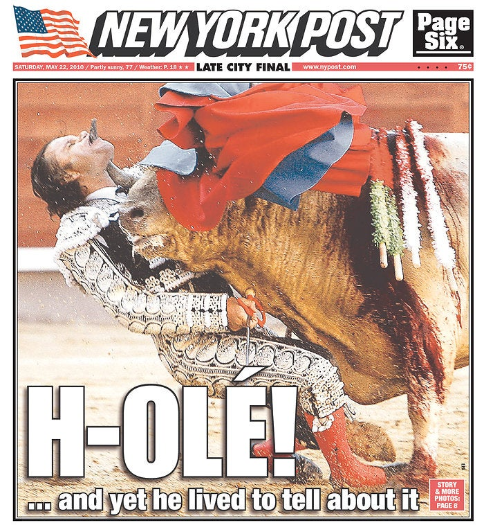 Is This the Finest New York Post Cover Ever?