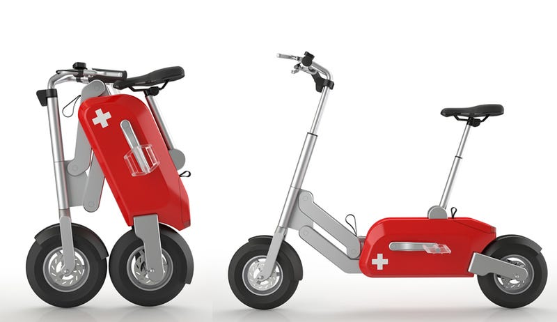 Unfold the Swiss Army Knife of Electric Scooters in Just One Second