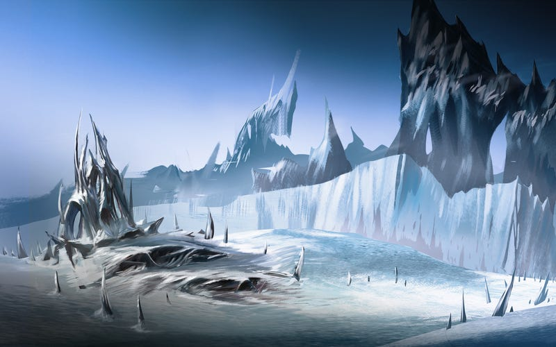 These Wallpapers of Icy Planets Are Perfect for Winter Escapism