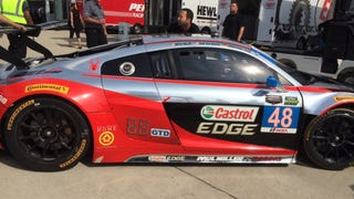 Detroit Pole Sitter Rebuilt Their Wrecked Audi In 2.5 Hours To Qualify