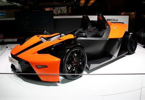 Geneva Showcase: The KTM X-Bow