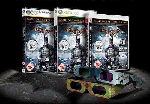 Batman: Arkham Asylum Game Of The Year Edition Hops On 3D Bandwagon