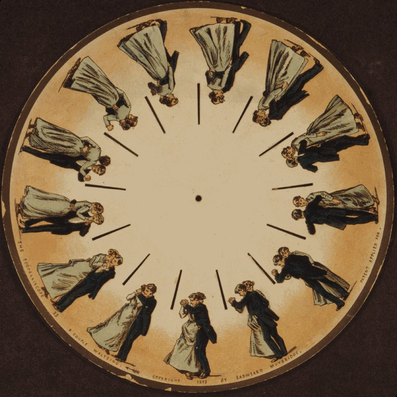 These were the GIFs of the Victorian Age