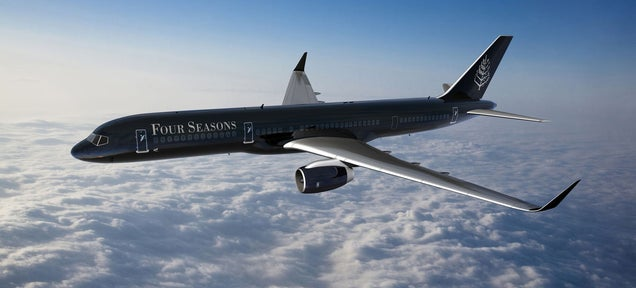 You Definitely Can't Afford a Round-the-World Trip In a Four Seasons Jet