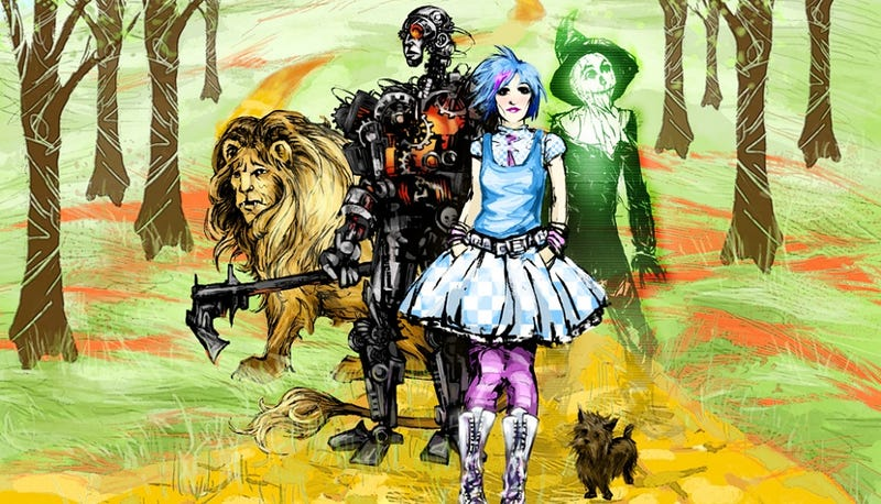 You've never seen the Wizard of Oz like this before