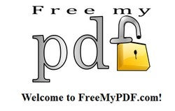 FreeMyPDF Liberates Your PDF File from Printing and Other Restrictions
