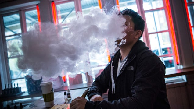 Another Study Finds E-Cigs May Contain Formaldehyde