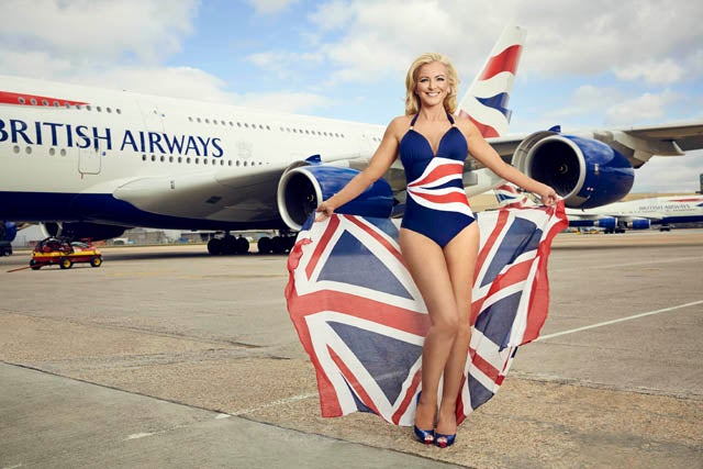 British Airways Turns Heads With New Poster Girl
