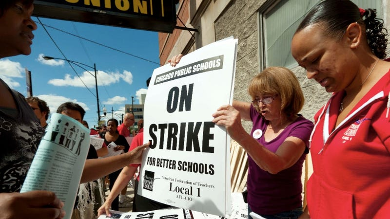 School's Out In Chicago Thanks to a Massive Teacher's Union Strike