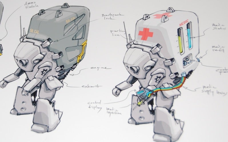 Robo Supply Units Can Harm Or Heal
