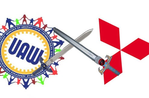 UAW Keeping Strike Plans A Secret From Mitsubishi, Relationship Troubles To Follow
