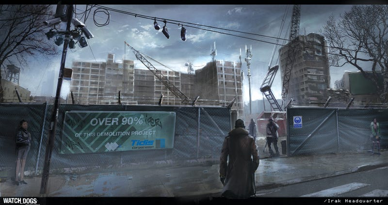 The Art (Well, Some Of The Art) From Watch Dogs