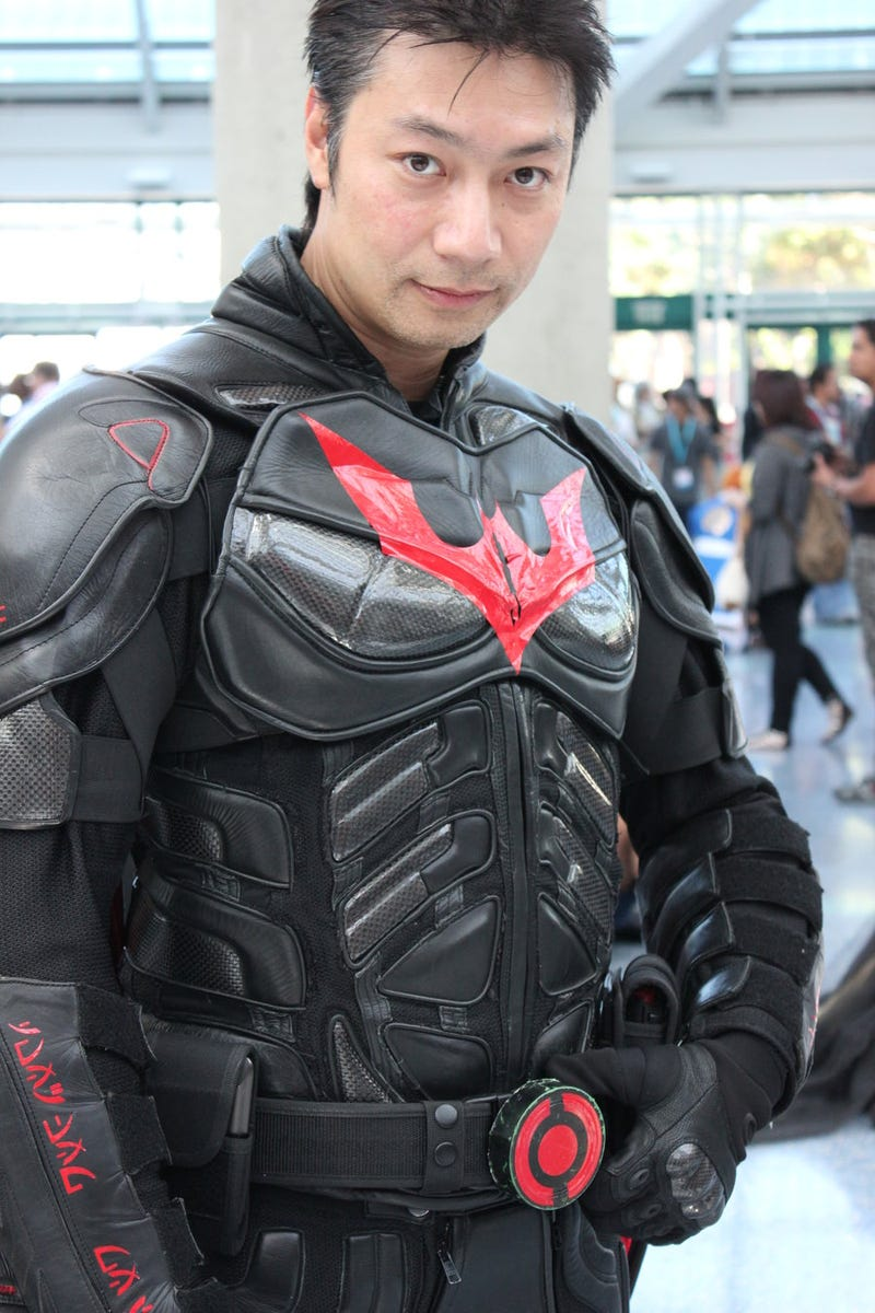 To Fight Crime, You Need an Awesome Batsuit. And To Commit Crime?
