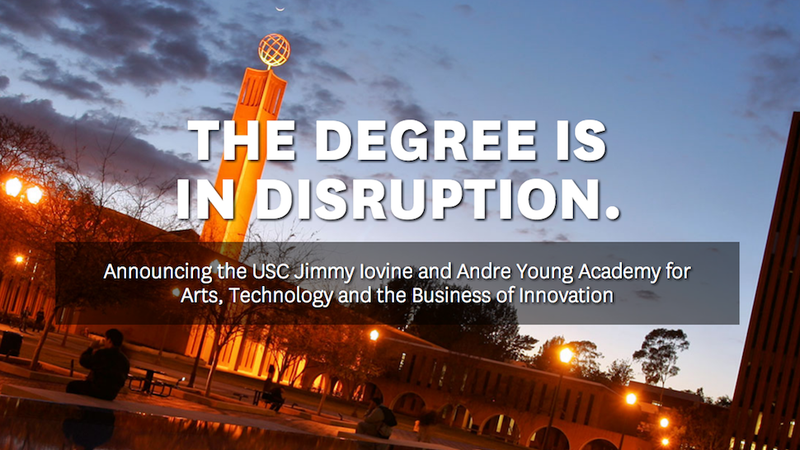 """Dr. Dre Unveils Incoherent College Degree in """"Disruption"""""""