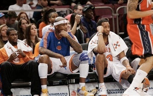 When The Knicks Play The Nets, Someone's Gonna Set An NBA Record