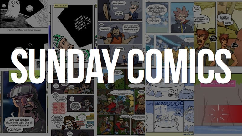 Sunday Comics: This Situation is Butt