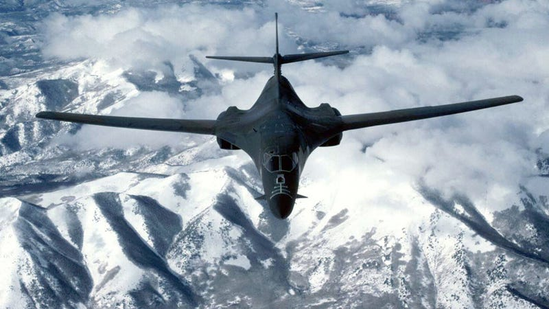 B-1 Bomber Crashes In Montana