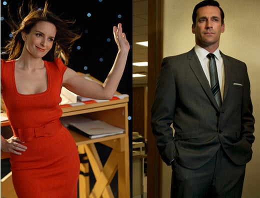 Liz Lemon + Don Draper = Best 30 Rock Ever?