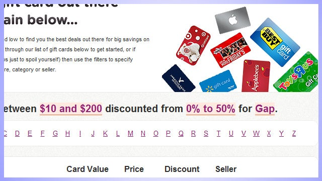 Cardnap Is an Ebay for Gift Card Balances