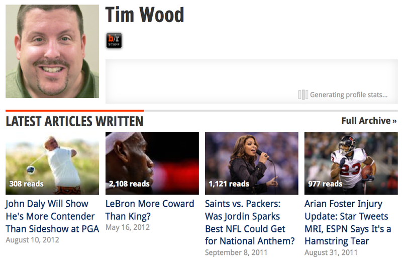 Tim Wood Dishes on Departures of NBA Lead Writers from 2011-2013