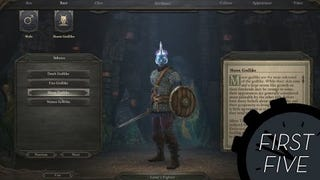 The First Five Character Building Minutes Of <i>Pillars Of Eternity</i>
