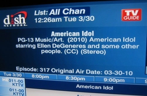 Proof the Dish Network Does Not Care About American Idol