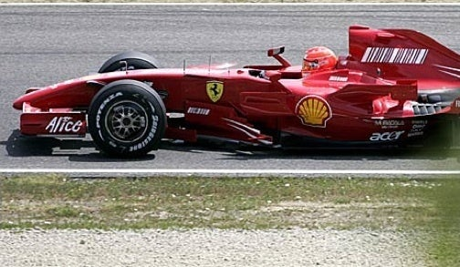 First Footage of Michael Schumacher Back in an F1 Car
