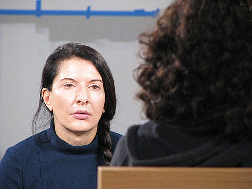 Vomit! Nudity! Litter! Marina Abramovic's Marathon Performance Ends In Chaos