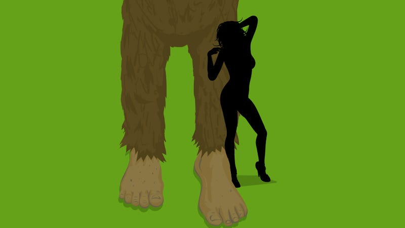 Forget Dinosaur Erotica: It's All About Bigfoot Erotica Now