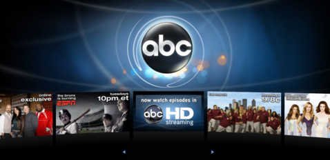 ABC streams full-length episodes in high def