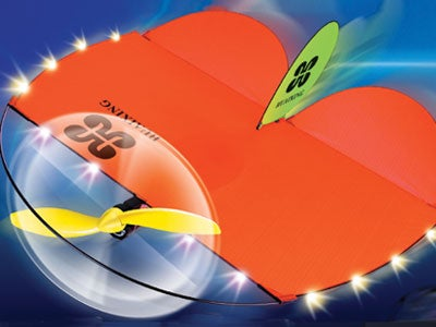 Air Kite, the Radio-Controlled Kite Plane that Scares the Neighbors at Night
